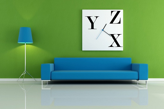 Design for wall painting